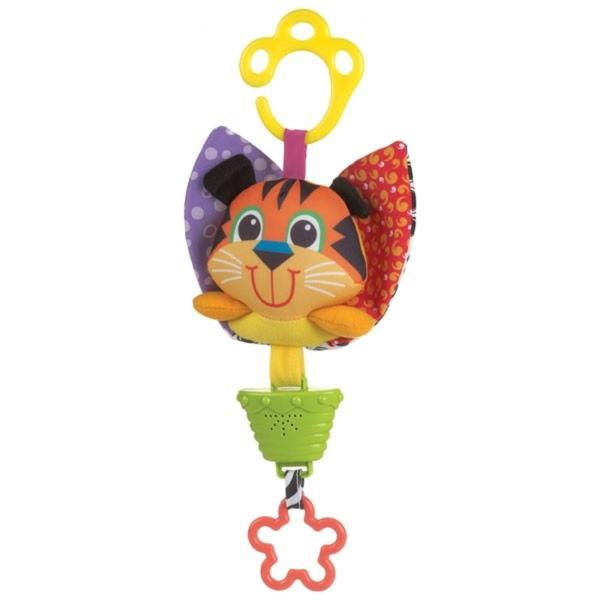 Playgro Музикална бебешка играчка тигър 0424
